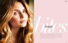 Editorial design JAN Magazine 9-2013 beauty