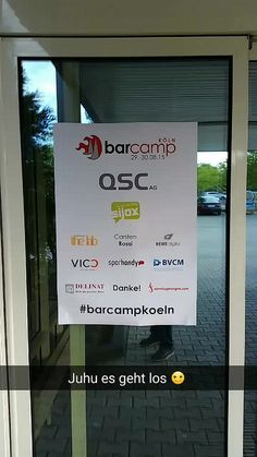 #Barcampkoeln 2015 #snapchat Geschichte | Flickr - Photo Sharing!