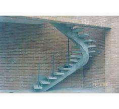 Escada Viga Central - Curvada