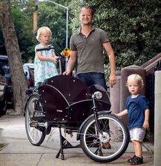 It's slow. It's heavy. But the cargo bicycle just might transform your life—and bring a bigger smile to your face than cycling ever has.