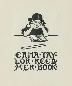 Pratt Libraries Ex Libris Collection of bookplates......even tho it's misspelled, I like the picture.