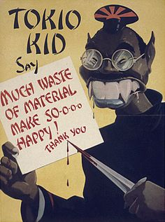 A typical anti-Japanese poster of World War II.