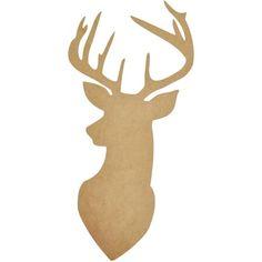 Kaisercraft Deer Wall Art Natural