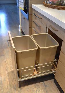 """18"""" drawer for trash"""