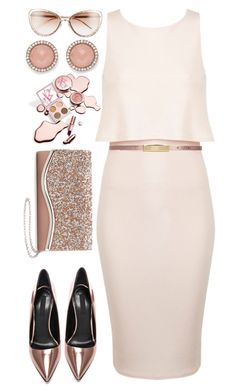 Lovely n Pink by emcf3548 on Polyvore featuring polyvore fashion style Miss Selfridge La Regale FOSSIL Maison Boinet Alexander Wang clothing