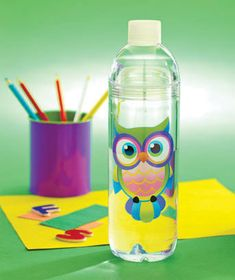You'll never go thirsty, no matter where you are, when you carry along a Novelty Water Bottle. Take it to work, to the gym, or out on a walk. A cute design makes this water bottle fun to use. It also offers a unique feature for those who like their water