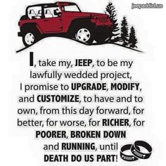 Jeep vows