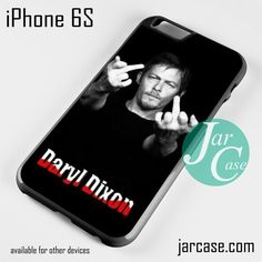 Norman Rreedus as Daryl Dixon Middle Finger - Z Phone case for iPhone 6/6S/6 Plus/6S plus