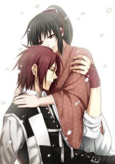 If Chizuru had been at that tree... Harada x chizuru hakuouki