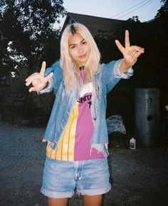 Image result for hayley kiyoko gravel to tempo outfit