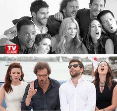 #ThankGodItsGrimm Grimm Cast, Nbc Grimm, Grimm Tv Show, Grimm Series, Tv Series, Bree Turner, Sasha Roiz, Grimm Tales, Smallville