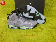Discount Shoes Online AIR JORDAN 6 RETRO GG 543390-508 Purple/Green JYZOOU