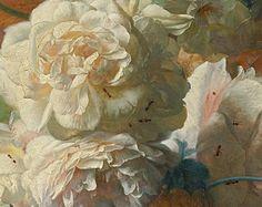 Du côté de chez Grillon du foyer » Le peintre des bouquets avec des nids d'oiseaux