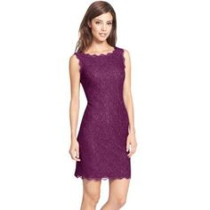 Short Form Fitting Elegant Lace Dress