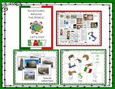 I have added Adventures Around the World - Let's Visit Italy to 1 - 2 - 3 Learn Curriculum. Click on picture to learn how to become a member and for free downloads. :)