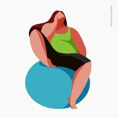 #illustration #illust #women #diet #fitness illustration by minkyung