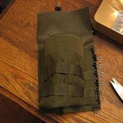 How to sew 1000D Cordura and Mil-Spec webbing, AKA MOLLE. http://www.ehow.com/how_4825675_sew-cordura-nylon-webbing.html
