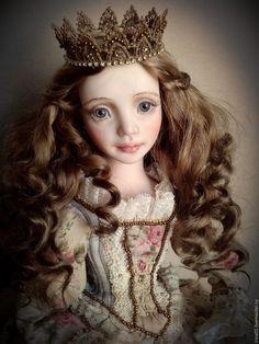 Старые сказки – купить или заказать в интернет-магазине на Ярмарке Мастеров | Авторская куколка, будуарная техника. Вся одежда…