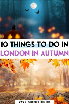 10 things to do in London in autumn. All you need to know if you're going to London in autumn! Things to do in London in autumn | London in autumn photography | Autumn in London | Autumn leaves London | Fall foliage London | Autumn colors London Winter Travel, Summer Travel, Holiday Travel, Top Travel Destinations, Europe Travel Guide, Road Trip Europe, Travel Inspiration, Travel Ideas, Things To Do In London