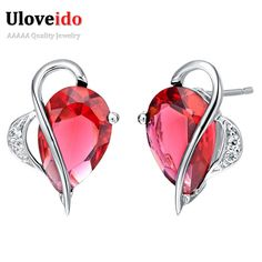 Find More Stud Earrings Information about Zirconium Wedding Vintage Silver Plated Earrings Bijoux Women Fashion Simulated Diamond Gemstone Jewellery Austrian Crystal R168,High Quality jewellery bangles,China jewellery tree Suppliers, Cheap jewellery crystal from D&C Fashion Jewelry Buy to Get a Free Gift on Aliexpress.com