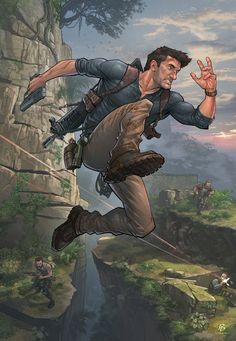 Uncharted 4 by PatrickBrown on DeviantArt