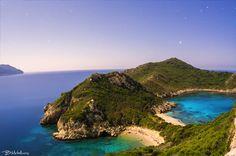 Nightscape above Porto Timoni, Afionas, Corfu by Bill Metallinos on 500px