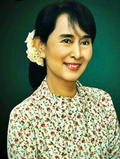 Daw Aung San Su Kyi <3