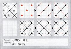 #LyonsTile #zentangle #perfectly4med