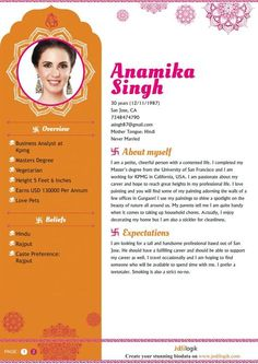 Pin By Easybiodata Com On Biodata For Marriage Samples In