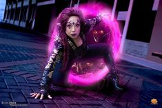 Blink  from X-Men: Days of Future Past Cosplay http://geekxgirls.com/article.php?ID=2899