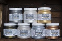 We've teamed up with legendary designer Matthew Mead to create a new product! This metallic paint is self-leveling available in Bronze, Copper, Pale Gold, Deep Gold, Silver, Pearl, and two new designer colors as well- Champagne and Brushed Steel.