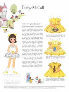 SaturdayFinds - Vintage-Inspired Gifts, Timeless Treasures and More!: I have a Love for Vintage Paper Dolls