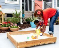 Sandkasten selber bauen - Tipps