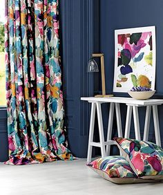 Colour user - fabric for cushions or curtains if I'm brave enough!