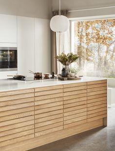 Kitchen Dinning, Kitchen Decor, Kitchen Design, Kitchen Furniture, Kitchen Interior, Home Trends, Updated Kitchen, Elle Decor, Cool Kitchens
