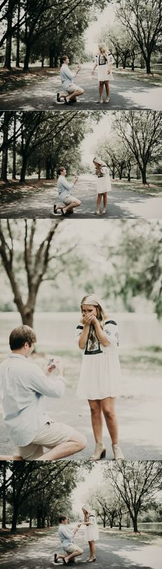 This photoshoot turned into the most beautiful surprise proposal, and their story is perfect!