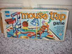 1975 MOUSE TRAP GAME SAle On All Games buy 1 get 2nd Half Off. $18.00, via Etsy.