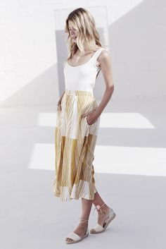 Lace Skirt, Midi Skirt, Bow Slides, Shine Your Light, Gift Of Time, New Earth, Made Clothing, Together We Can, Printed Pants