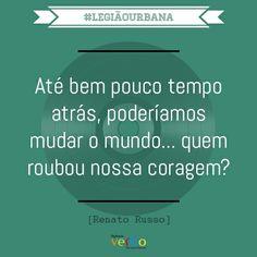 #legiãourbana #renatorusso