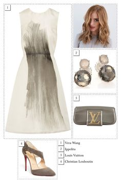 """""""#1587"""" by thecrownoutfits ❤ liked on Polyvore featuring Ippolita, Christian Louboutin, Vera Wang and Louis Vuitton"""
