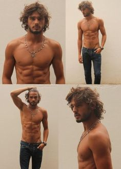 Brazillian model...this guy is STUNNING