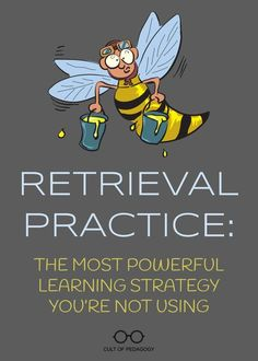Retrieval Practice: The Most Powerful Learning Strategy You're Not Using If we want students to learn concepts better, we'll ask them to pull concepts out of their brains, rather than continually trying to put concepts in. Instructional Coaching, Instructional Strategies, Teaching Strategies, Teaching Reading, Teaching Resources, College Teaching, Instructional Technology, Teaching Art, Retrieval Practice