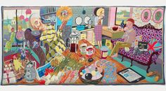4. Grayson Perry, The Annunciation of the Virgin Deal, 2012, Arts Council Collection, Southbank Centre London and British Council