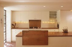 Copper! PMW Architects-Tower House - contemporary - kitchen - new york - by PMWArchitects