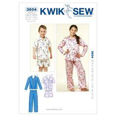 Mccall Pattern K3604 Xs-S-M-L-X-Kwik Sew Pattern