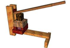 MICRO (SMAL) SINGLE LEVER PRESS FOR SQUARE BIOMASS FUEL BRIQUETTES this is good to know