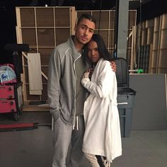 Looking good in between takes is easy for these two.  Don't miss them in the #STAR series premiere Wednesday on FOX! Black Couples, Cute Couples, Cute Relationships, Relationship Goals, Lee Daniels Star, Dark Skin Models, Quincy Brown, Brown Image, Series Premiere