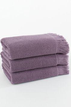 Ručníky a osušky FRINGE k dostání v nádherné fialové/lila barvě !