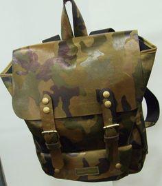 Capsule NY: Logan Zane Camo Backpack
