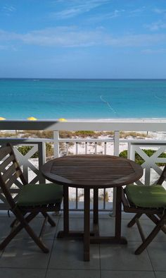 Balcony at Alexandra Resort in Turks and Caicos